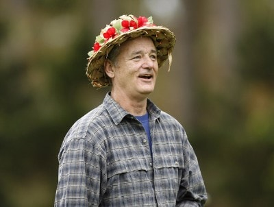 Bill Murray during the first round of the AT&T Pebble Beach National Pro-Am on the Poppy Hills Golf Course in Pebble Beach, California, on February 8, 2007. PGA TOUR - 2007 AT&T Pebble Beach National Pro-Am - Celebrity Photo by Hunter Martin/WireImage.com