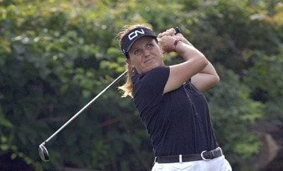 Lorie Kane during the final round  at Newport Country Club, site of the 2006 U. S. Women's Open in Newport, Rhode Island, July 2.Photo by Al Messerschmidt/WireImage.com