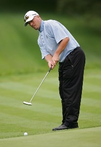 Brett Wetterich during the first round of the Barclays Classic held at Westchester Country Club in Rye, New York on June 8, 2006.Photo by Sam Greenwood/WireImage.com