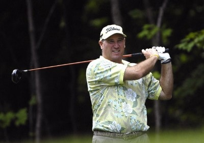 SILVIS, IL - JULY 12:  Duffy Waldorf during the first round of The John Deere Classic at the TPC Deere Run on July 12, 2007 in Silvis, Illinois.  (Photo by Marc Feldman/WireImage) *** Local Caption *** Duffy Waldorf PGA - John Deere Classic - First RoundPhoto by Marc Feldman/WireImage) *** Local Caption *** Duffy Waldorf