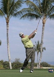 Hale Irwin during the Wednesday Pro-Am round of the 2007 MasterCard Championship at Hualalai held at Hualalai Golf Club in Ka'upulehu-Kona, Hawaii, on January 17, 2007. Photo by: Chris Condon/PGA TOURPhoto by: Chris Condon/PGA TOUR