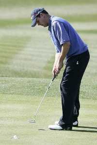 Jeff Quinney during the second round of the FBR Open held at TPC Scottsdale in Scottsdale, Arizona, on February 2, 2007.  Photo by: Stan Badz/PGA TOURPhoto by: Stan Badz/PGA TOUR