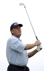 Keith Fergus during the third and final round of the Regions Charity Classic held at Robert Trent Jones Golf Trail at Ross Bridge in Birmingham, AL, on May 7, 2006.Photo by Steve Levin/WireImage.com