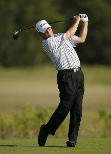 Jay Haas during the second round of Senior PGA Championship on the Ocean Course at the Kiawah Island Resort on May 25, 2007 in Kiawah Island, South Carolina. 2007 Senior PGA Championship - Second RoundPhoto by Mike Ehrmann/WireImage.com