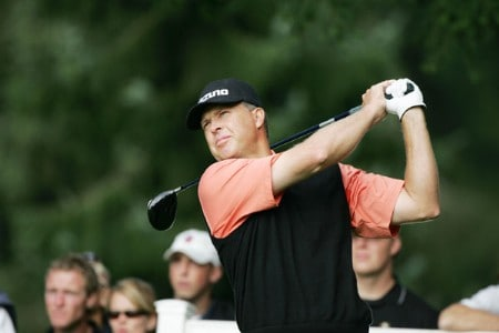 Bob Tway in action during the first round of the 2005 Bell Canadian Open, September 8,2005, held at Shaughnessy Golf & Country Club, Vancouver, B.C.Photo by Stan Badz/PGA TOUR/WireImage.com