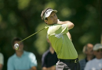 Mark Wilson during the second round of the US Bank Championship being held at Brown Deer Park in Milwaukee, Wisconsin on July 20, 2007. Photo by Mike Ehrmann/WireImage.com
