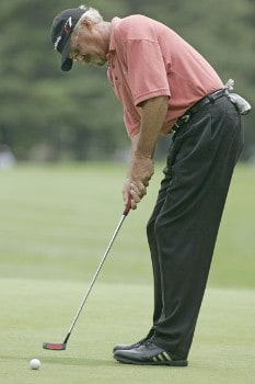Gary McCord during second round of the 2005 Commerce Bank Championship at Eisenhower Park in East Meadow, New York on July 2, 2005.Photo by Michael Cohen/WireImage.com
