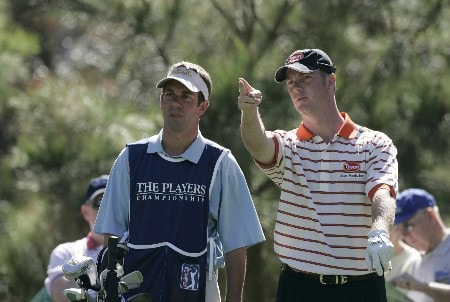 Tag Ridings during the first round of THE PLAYERS championship at the Tournament Players Club at Sawgrass in Ponte Vedra Beach, Florida on March 24, 2005.