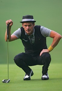 Jesper Parnevik during the second round of the 88th PGA Championship at Medinah Country Club in Medinah, Illinois, on August 18, 2006.Photo by Sam Greenwood/WireImage.com