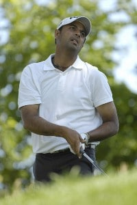Arjun Atwal during the second round of The John Deere Classic at the TPC Deere Run in Silvis, Illinois on Friday, July 13, 2007 PGA - 2007 John Deere Classic - Second RoundPhoto by Marc Feldman/WireImage.com