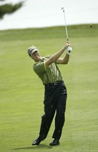 Steve Elkington competes in the  Booz Allen Classic Pro-Am at TPC Avenel, Potomac, Maryland, Wednesday, June, 21st, 2006.Photo by Hunter Martin/WireImage.com