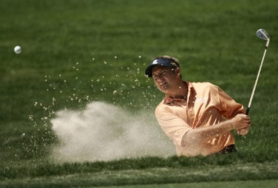 Ken Duke during a practice round at the 2007 Wachovia Championship held at the Quail Hollow Country Club in Charlotte, North Carolina on Tuesday, May 1, 2007. Photo by Sam Greenwood/WireImage.com