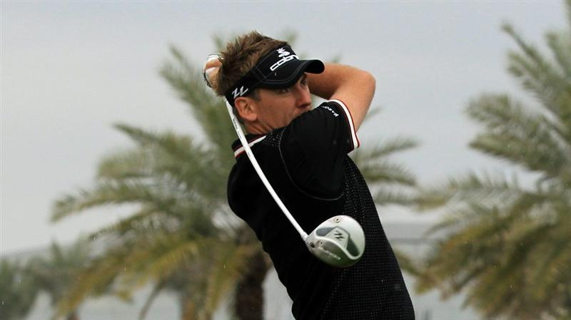 BAHRAIN, BAHRAIN - JANUARY 26:  Ian Poulter of England during the pro-am for the 2011 Volvo Champions held at the Royal Golf Club on January 26, 2011 in Bahrain, Bahrain.  (Photo by David Cannon/Getty Images)