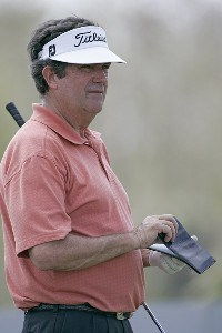 Bruce Lietzke during the first round of the ACE Group Classic held at the TwinEagles GC in Naples, Florida on February 17, 2006.Photo by Sam Greenwood/WireImage.com