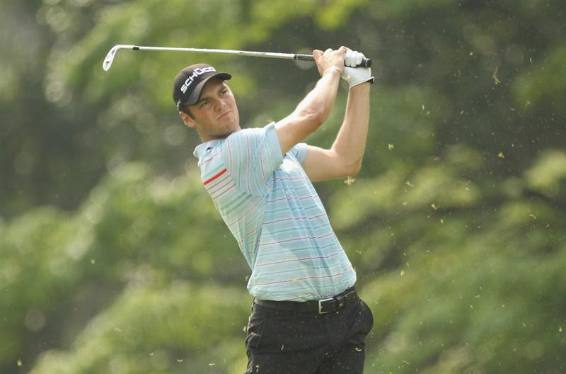 KUALA LUMPUR, MALAYSIA - APRIL 15:  Martin Kaymer of Germany in action during the second round of the Maybank Malaysian Open at Kuala Lumpur Golf & Country Club on April 15, 2011 in Kuala Lumpur, Malaysia.  (Photo by Ian Walton/Getty Images)