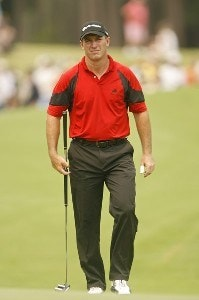Peter Lonard during the final round of THE PLAYERS Championship held on THE PLAYERS Stadium Course at TPC Sawgrass in Ponte Vedra Beach, Florida, on May 13, 2007. PGA TOUR - 2007 THE PLAYERS Championship - Final RoundPhoto by Hunter Martin/WireImage.com