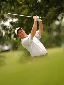 Joe Durant on the 9th hole during the fourth and final round of the Stanford St. Jude Championship at the TPC Southwind on Sunday, June 10, 2007 in Memphis, Tennessee PGA TOUR - 2007 Stanford St. Jude Championship - Final RoundPhoto by Marc Feldman/WireImage.com