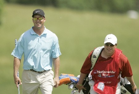 Chris Couch on the 16th hole during the third round of the 2005 LaSalle Bank Open at the The Glen Club in Glenview, Illinois on June 11, 2005.Photo by Mike Ehrmann/WireImage.com