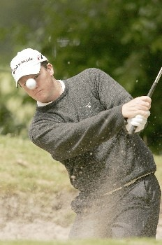 Marcus Fraser during the final round of the 2005 KLM Open at Hilversumsche Golf Club. June 12, 2005Photo by Pete Fontaine/WireImage.com