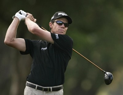 Nick O'Hern during the second round of the WGC-CA Championship held on the Blue Course at Doral Golf Resort and Spa in Doral, Florida, on March 23, 2007. PGA TOUR - WGC - 2007 CA Championship - Second RoundPhoto by Sam Greenwood/WireImage.com