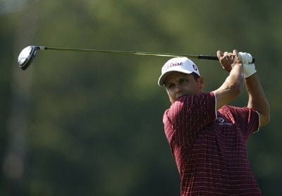 Omar Uresti in action during the second round of the Nationwide Tour BMW Charity Pro-Am at the Cliffs at the The Cliffs at Keowee Vineyards in Greenville, South Carolina on May 18, 2007. Nationwide Tour - 2007 BMW Charity Pro-Am at the Cliffs - Second RoundPhoto by Steve Grayson/WireImage.com