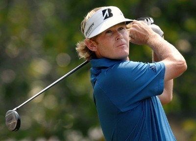 Brandt Snedeker plays his shot from the 18th tee during the final round of the Wyndham Championship at Forest Oaks Country Club on August 19, 2007 in Greensboro, North Carolina. PGA TOUR - 2007 Wyndham Championship - Final RoundPhoto by Jonathan Ernst/WireImage.com