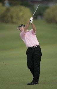 Jerry Pate during the second round of the 2007 MasterCard Championship at Hualalai held at Hualalai Golf Club in Ka'upulehu-Kona, Hawaii, on January 20, 2007. Photo by: Chris Condon/PGA TOURPhoto by: Chris Condon/PGA TOUR