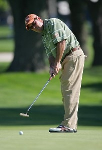 Rich Beem during a practice round at the 2006 U.S. Open Golf Championship held at Winged Foot Golf Club in Mamaroneck, New York on Tuesday, June 13, 2006.Photo by Sam Greenwood/WireImage.com