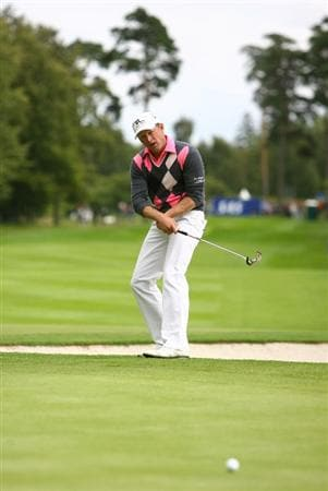 MALMO, SWEDEN - JULY 26:  Jamie Donaldson of Wales in action on the 17th green during Round Four of the SAS Masters at the Barseback Golf & Country Club on July 26, 2009 in Malmo, Sweden.  (Photo by Ian Walton/Getty Images)