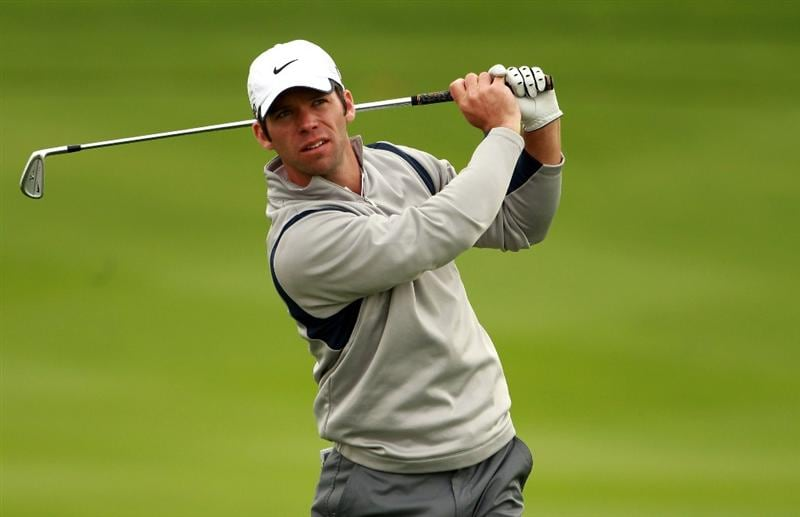 BAHRAIN, BAHRAIN - JANUARY 26:  Paul Casey of England in action during the Pro Am prior to the start of the Volvo Golf Champions at The Royal Golf Club on January 26, 2011 in Bahrain, Bahrain.  (Photo by Andrew Redington/Getty Images)