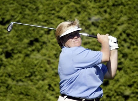 Kate Golden  during the first round of the 2005 Safeway Classic at Columbia Edgewater Country Club, on Friday,  August 18, 2005.Photo by Allan Campbell/WireImage.com