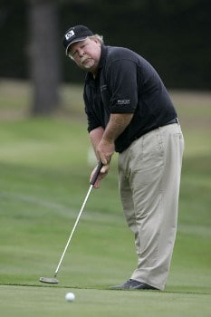 Craig Stadler in action during the second round of the 2005 Wal-Mart First Tee Open at Pebble Beach Golf Links, on September 3,2005. The event is being held at Pebble Beach Golf Links & Del Monte G.C., Pebble Beach, Ca.Photo by Stan Badz/PGA TOUR/WireImage.com