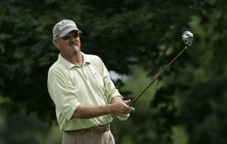 Gary McCord during the third round of the Commerce Bank Championship at Eisenhower Park in East Meadow, New York on July 3 , 2005.Photo by Michael Cohen/WireImage.com