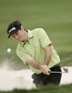 Mark Wilson on the 3rd hole during the final round of the Honda Classic on the Champion Course at PGA National in Palm Beach Gardens, Florida on Sunday, March 4, 2007. PGA TOUR - The 2007 Honda Classic - Final RoundPhoto by Sam Greenwood/WireImage.com