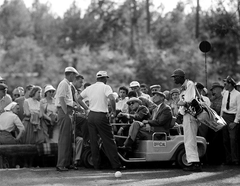 Arnold Palmer and Ken Venturi