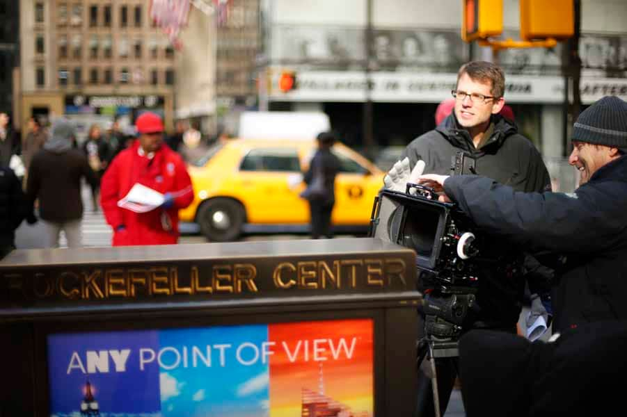 In Play With Jimmy Roberts near Rockefeller Center