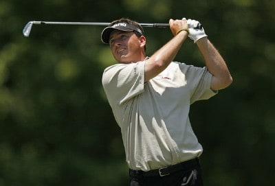 Kris Cox on the 9th hole during the second round of the AT&T Classic held at TPC Sugarloaf in Duluth, GA on May 18, 2007. PGA TOUR - 2007 AT&T Classic - Second RoundPhoto by Mike Ehrmann/WireImage.com