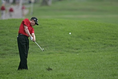 Nick O'hern of Australia during the second round of the NEC Invitational at Firestone Country Club in Akron, Ohio on August 19, 2005.Photo by Sam Greenwood/WireImage.com