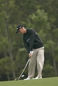 Nathan Green during the second round for THE PLAYERS Championship held at the TPC Stadium Course in Ponte Vedra Beach, Florida on March 24, 2006.Photo by Sam Greenwood/WireImage.com