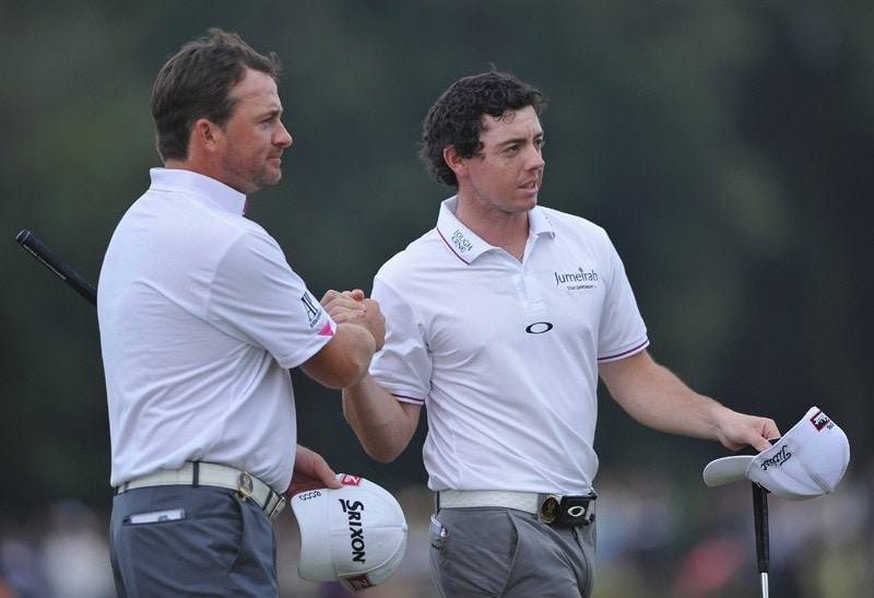 Rory McIlroy at the 2011 Omega Mission Hills World Cup