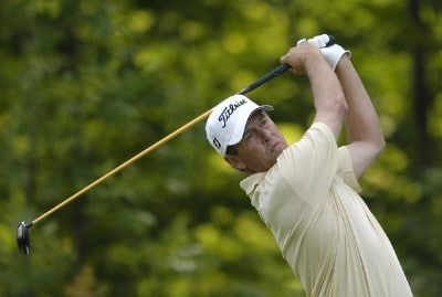 Jim Rutledge during the first round of the Legend Financial Group Classic at the Stone Water Golf Club in Cleveland, Ohio on Thursday, August 31, 2006.Photo by Steve Levin/WireImage.com