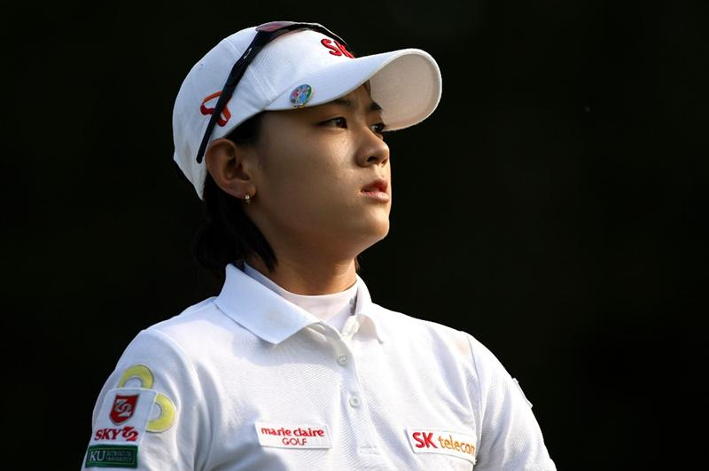 BETHLEHEM, PA - JULY 10:  Na Yeon Choi of South Korea walks off the 2nd hole during the second round of the 2009 U.S. Women's Open at Saucon Valley Country Club on July 10, 2009 in Bethlehem, Pennsylvania.  (Photo by Streeter Lecka/Getty Images)