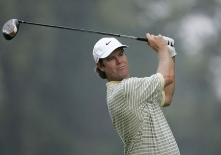 Paul Azinger during the second round of the 2005 PGA Championship at Baltusrol Golf Club in Springfield, New Jersey on August 12, 2005.Photo by Christopher Condon/WireImage.com