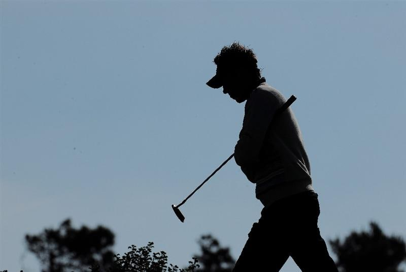 ESTORIL, PORTUGAL - APRIL 03:  Nick Dougherty of Engalnd during the second round of The Estoril Open de Portugal The Oitavos Dunes Golf Course on April 3, 2009 in Cascais, Portugal.  (Photo by Stuart Franklin/Getty Images)