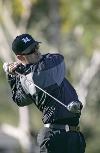 Carson Daly in action during the third round of the Bob Hope Chrysler Classic held at the Palmer Private Course at PGA West in La Quinta, California on Friday, January 20, 2006Photo by Sam Greenwood/WireImage.com
