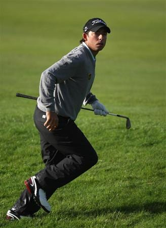 AUCHTERARDER, SCOTLAND - AUGUST 27:  Pablo Larrazabal of Spain on the par five 11th hole during the first round of the Johnnie Walker Championship on the PGA Centenary Course at Gleneagles on August 27, 2009 in Auchterarder, Scotland.  (Photo by Ross Kinnaird/Getty Images)