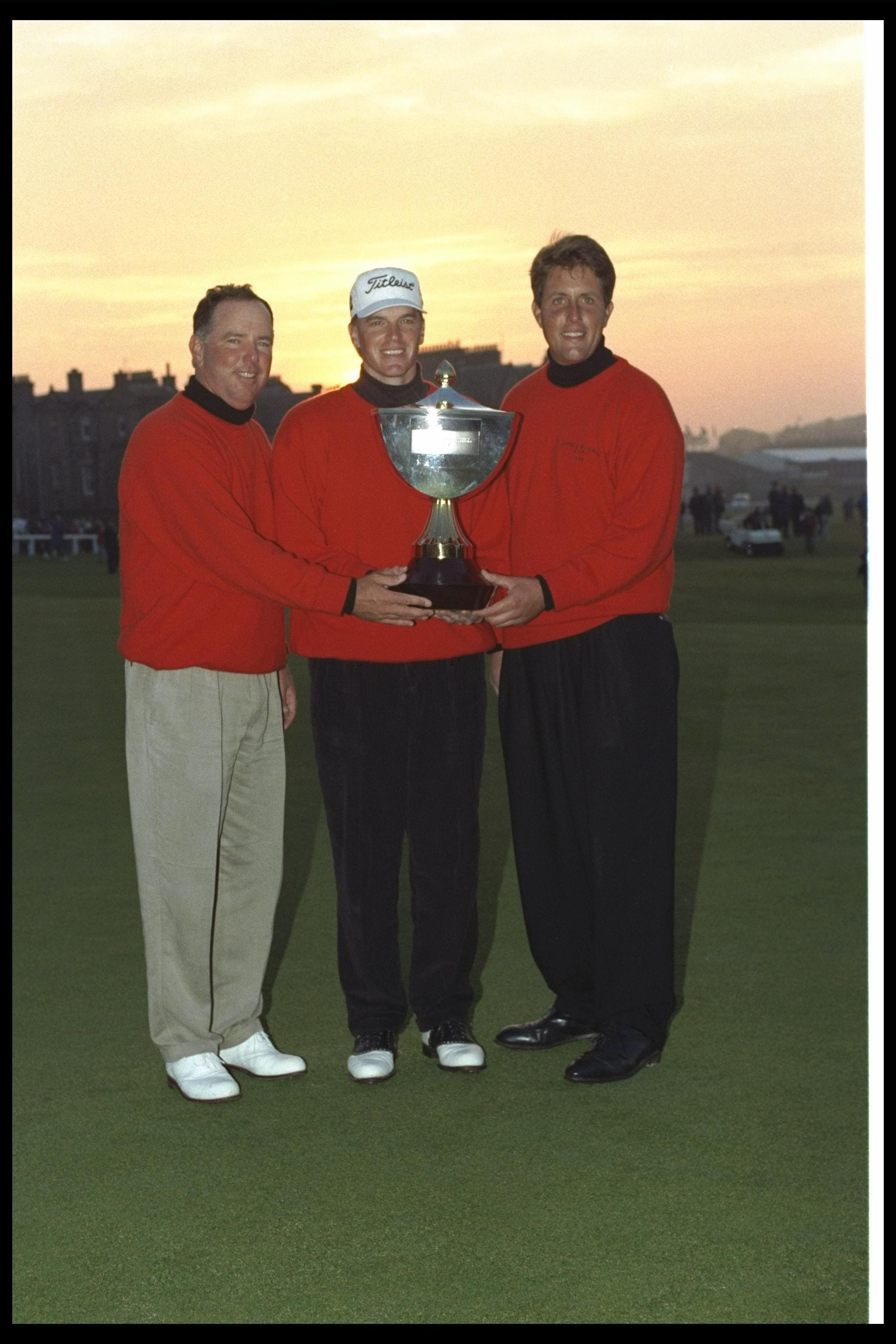 Phil Mickelson and the 1996 Alfred Dunhill Cup USA Team