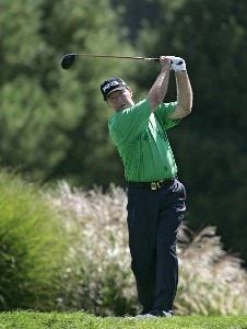 Bob Gilder during the third and final round of the Constellation Energy Classic at Hayfields Country Club in Hunt Valley, Maryland on September 17, 2006.Photo by Michael Cohen/WireImage.com