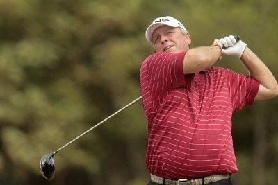 Mark Calcavecchia during the final round of the 135th Open Championship at Royal Liverpool Golf Club in Hoylake, Great Britain on July 23, 2006.Photo by Pete Fontaine/WireImage.com
