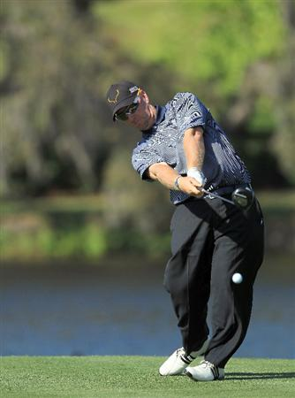 ORLANDO, FL - MARCH 24:  David Duval of the USA plays his tee shot at the 16th hole during the first round of the 2011 Arnold Palmer Invitational presented by Mastercard at the Bay Hill Lodge and Country Club on March 24, 2011 in Orlando, Florida.  (Photo by David Cannon/Getty Images)